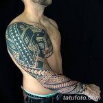 Фото тату полинезия от 24.09.2018 №033 - Polynesia tattoo - tatufoto.com