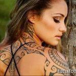 Фото тату полинезия от 24.09.2018 №036 - Polynesia tattoo - tatufoto.com