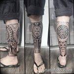 Фото тату полинезия от 24.09.2018 №046 - Polynesia tattoo - tatufoto.com