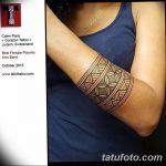 Фото тату полинезия от 24.09.2018 №047 - Polynesia tattoo - tatufoto.com