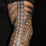 Фото тату полинезия от 24.09.2018 №051 - Polynesia tattoo - tatufoto.com