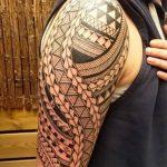 Фото тату полинезия от 24.09.2018 №052 - Polynesia tattoo - tatufoto.com