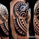 Фото тату полинезия от 24.09.2018 №053 - Polynesia tattoo - tatufoto.com