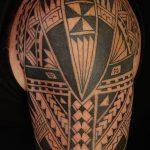 Фото тату полинезия от 24.09.2018 №055 - Polynesia tattoo - tatufoto.com
