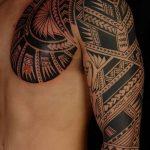 Фото тату полинезия от 24.09.2018 №057 - Polynesia tattoo - tatufoto.com