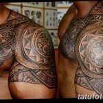 Фото тату полинезия от 24.09.2018 №070 - Polynesia tattoo - tatufoto.com
