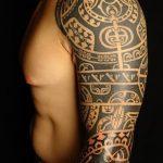 Фото тату полинезия от 24.09.2018 №073 - Polynesia tattoo - tatufoto.com