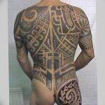 Фото тату полинезия от 24.09.2018 №074 - Polynesia tattoo - tatufoto.com