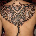 Фото тату полинезия от 24.09.2018 №075 - Polynesia tattoo - tatufoto.com