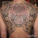 Фото тату полинезия от 24.09.2018 №078 - Polynesia tattoo - tatufoto.com