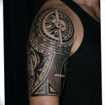 Фото тату полинезия от 24.09.2018 №079 - Polynesia tattoo - tatufoto.com