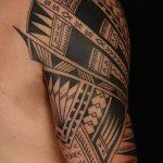 Фото тату полинезия от 24.09.2018 №080 - Polynesia tattoo - tatufoto.com