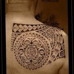 Фото тату полинезия от 24.09.2018 №082 - Polynesia tattoo - tatufoto.com