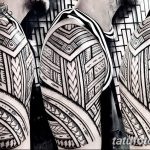 Фото тату полинезия от 24.09.2018 №100 - Polynesia tattoo - tatufoto.com