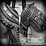 Фото тату полинезия от 24.09.2018 №101 - Polynesia tattoo - tatufoto.com