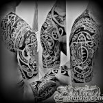 Фото тату полинезия от 24.09.2018 №104 - Polynesia tattoo - tatufoto.com