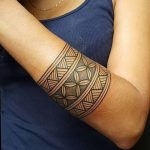 Фото тату полинезия от 24.09.2018 №106 - Polynesia tattoo - tatufoto.com
