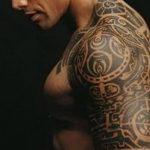 Фото тату полинезия от 24.09.2018 №108 - Polynesia tattoo - tatufoto.com