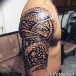 Фото тату полинезия от 24.09.2018 №114 - Polynesia tattoo - tatufoto.com