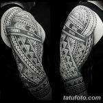 Фото тату полинезия от 24.09.2018 №119 - Polynesia tattoo - tatufoto.com