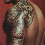 Фото тату полинезия от 24.09.2018 №121 - Polynesia tattoo - tatufoto.com