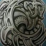 Фото тату полинезия от 24.09.2018 №124 - Polynesia tattoo - tatufoto.com
