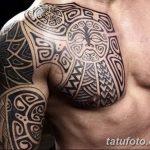 Фото тату полинезия от 24.09.2018 №126 - Polynesia tattoo - tatufoto.com