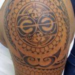 Фото тату полинезия от 24.09.2018 №128 - Polynesia tattoo - tatufoto.com