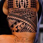 Фото тату полинезия от 24.09.2018 №130 - Polynesia tattoo - tatufoto.com