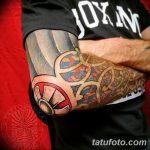 Фото тату полинезия от 24.09.2018 №144 - Polynesia tattoo - tatufoto.com