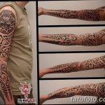 Фото тату полинезия от 24.09.2018 №146 - Polynesia tattoo - tatufoto.com