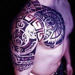 Фото тату полинезия от 24.09.2018 №148 - Polynesia tattoo - tatufoto.com