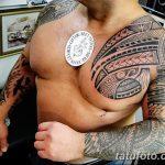 Фото тату полинезия от 24.09.2018 №153 - Polynesia tattoo - tatufoto.com