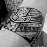 Фото тату полинезия от 24.09.2018 №154 - Polynesia tattoo - tatufoto.com