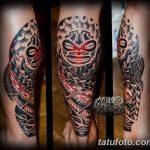 Фото тату полинезия от 24.09.2018 №156 - Polynesia tattoo - tatufoto.com