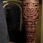 Фото тату полинезия от 24.09.2018 №160 - Polynesia tattoo - tatufoto.com