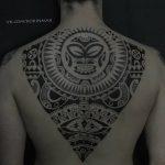 Фото тату полинезия от 24.09.2018 №166 - Polynesia tattoo - tatufoto.com