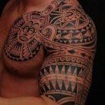 Фото тату полинезия от 24.09.2018 №168 - Polynesia tattoo - tatufoto.com