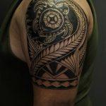 Фото тату полинезия от 24.09.2018 №189 - Polynesia tattoo - tatufoto.com