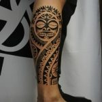 Фото тату полинезия от 24.09.2018 №195 - Polynesia tattoo - tatufoto.com