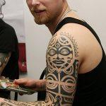 Фото тату полинезия от 24.09.2018 №207 - Polynesia tattoo - tatufoto.com