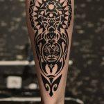 Фото тату полинезия от 24.09.2018 №208 - Polynesia tattoo - tatufoto.com