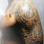 Фото тату полинезия от 24.09.2018 №223 - Polynesia tattoo - tatufoto.com