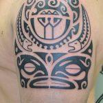 Фото тату полинезия от 24.09.2018 №224 - Polynesia tattoo - tatufoto.com