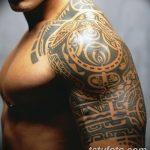 Фото тату полинезия от 24.09.2018 №230 - Polynesia tattoo - tatufoto.com