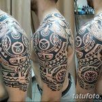 Фото тату полинезия от 24.09.2018 №232 - Polynesia tattoo - tatufoto.com