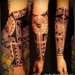 Фото тату полинезия от 24.09.2018 №237 - Polynesia tattoo - tatufoto.com