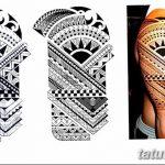 Фото тату полинезия от 24.09.2018 №238 - Polynesia tattoo - tatufoto.com