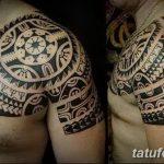 Фото тату полинезия от 24.09.2018 №241 - Polynesia tattoo - tatufoto.com