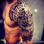 Фото тату полинезия от 24.09.2018 №251 - Polynesia tattoo - tatufoto.com